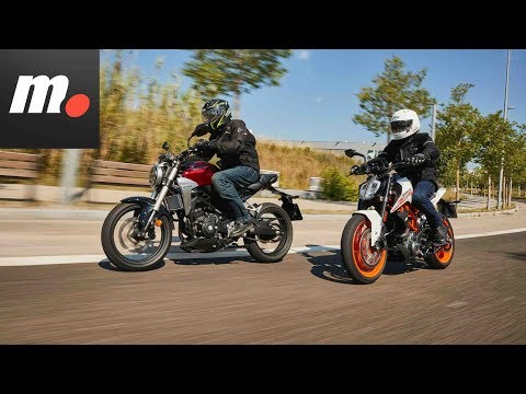 Comparativo Honda CB300R vs KTM 390 Duke | Primera Prueba / Test / Review en español