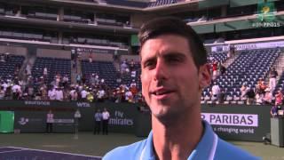 2015 Novak Djokovic Final Interview
