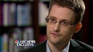 Edward   Snowden Brian Williams NBC Interview Breakdown