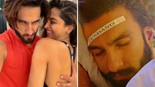 Deepika Padukone labelling Ranveer Singh as 'husband' is t..
