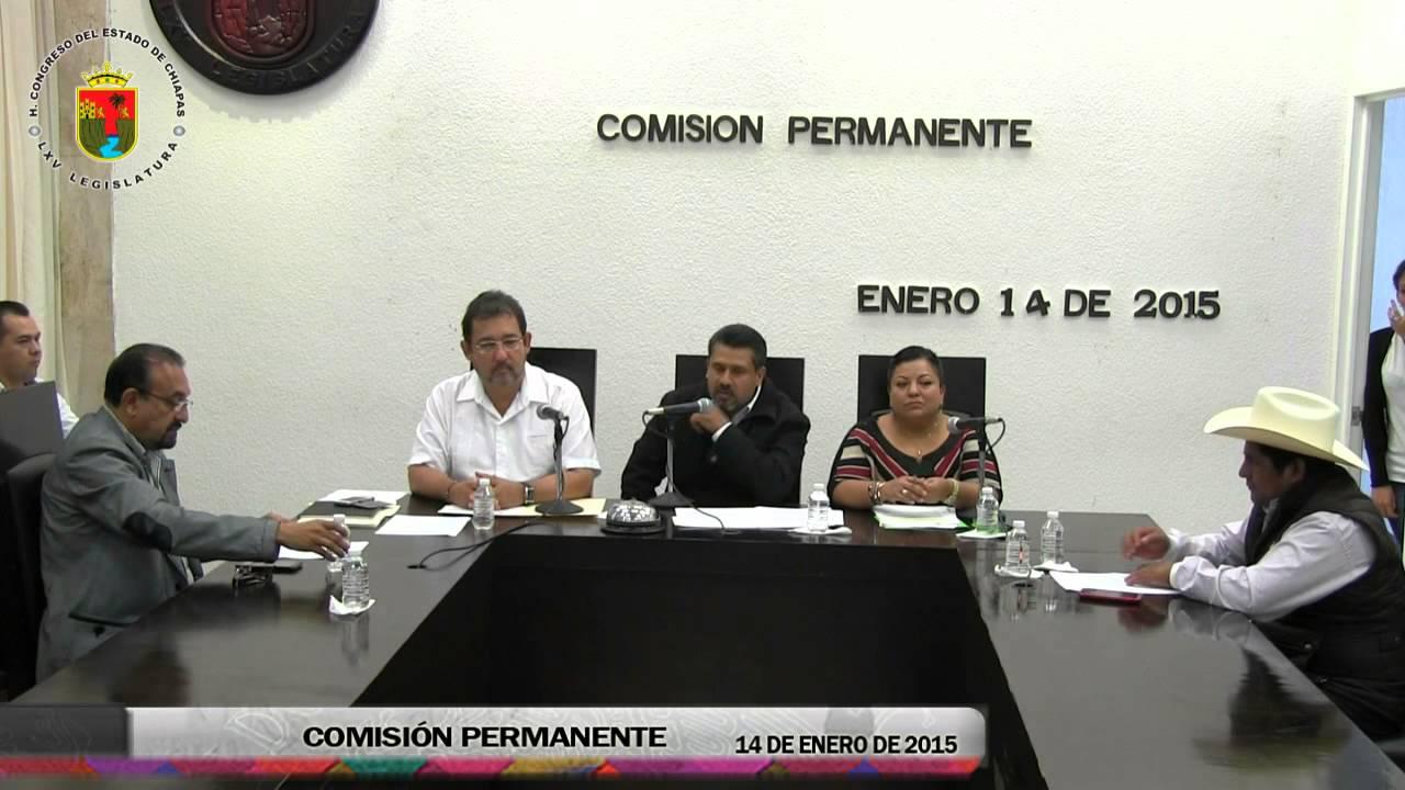 Comisión Permanente 14 de Enero de 2015