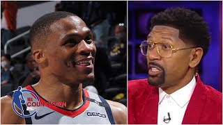 I want a compilation of all the people who have slandered Russ! - Jalen Rose   NBA Countdown