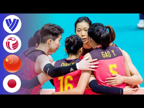 China vs. Japan - Full Match | Women's Volleyball World Grand Prix 2017