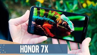 Honor 7X review: Gama media con DOBLE CÁMARA y PANTALLA 18:9