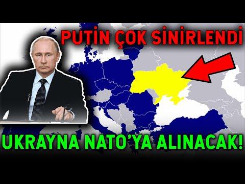 Putin NATO'ya Rest Çekti! NATO GENİŞLİYOR KORKUYORUZ!