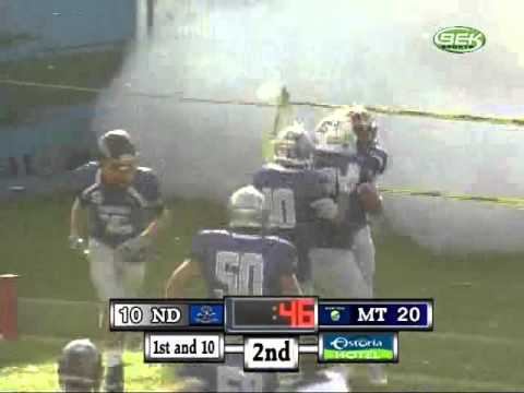North Dakota vs Montana FB Badlands Bowl (Clip) -Jordan Hassler
