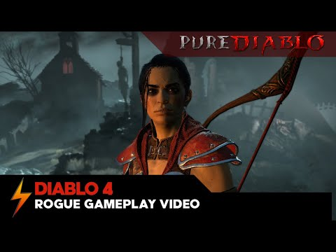 Diablo 4 Rogue Gameplay Video - No Commentary