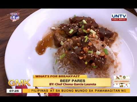 Beef Pares   What's For Breakfast