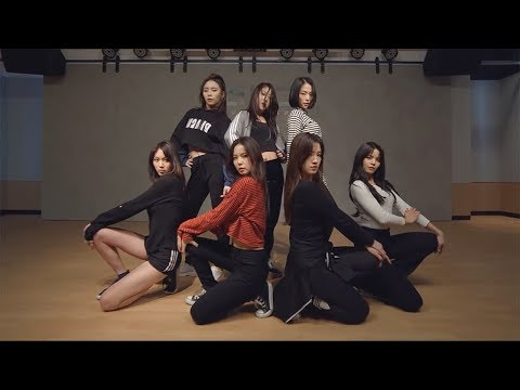 CLC (씨엘씨) - BLACK DRESS Dance Practice (Mirrored)