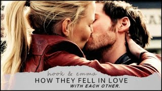 how they fell in love with each other   hook + emma (2x05-5x23)