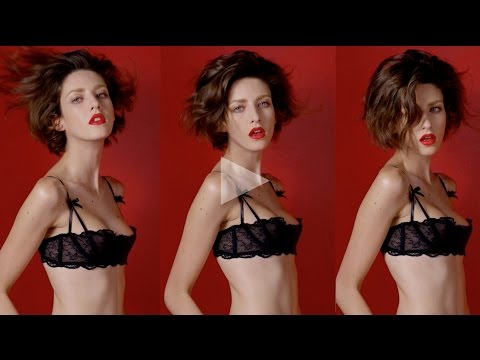 ceft and company: never underdressed ad with model cris herrmann director karen collins