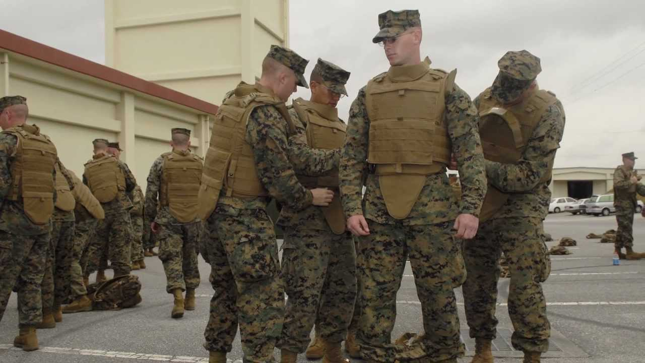 Marine Corps Improved Modular Tactical Vest Body Armor