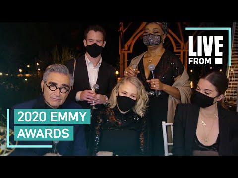 """""""Schitt's Creek"""" Cast Talks 2020 Emmys Sweep"""