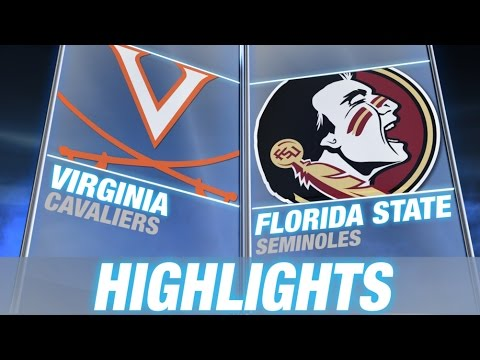 Virginia vs Florida State | 2014 ACC Football Highlights