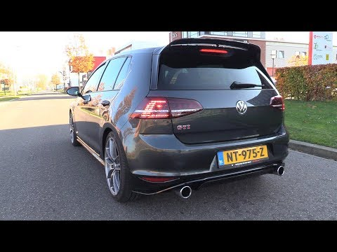 Volkswagen Golf 7 GTI Clubsport – Sound & Accelerations!