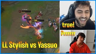 When LL Stylish's Teammate is a fan of Yassuo | Yassuo vs LL Stylish | LoL Daily Moments Ep 579