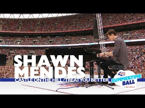 Shawn Mendes 'Castle On The Hill / Treat You Better' (Live At Capital's Summertime Ball 2017)