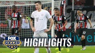 Eintracht Frankfurt vs. Bayern Munich | 2019 Bundesliga Highlights