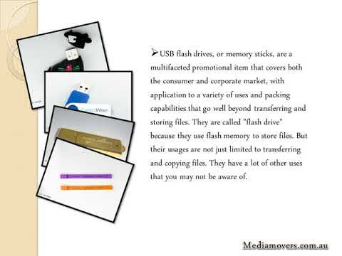 USB Flash Drives Australia: Get a Complete Turnkey Solution with Media Movers