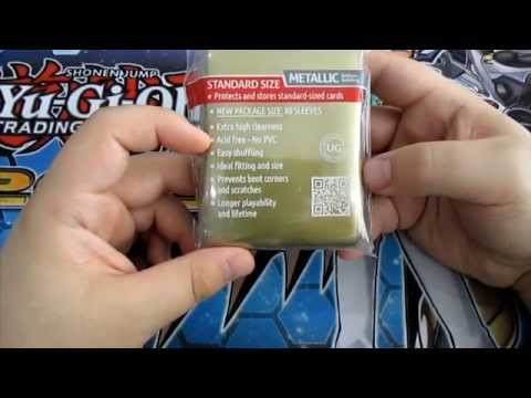 Ultimate Guard Supreme Sleeves Standard Size Metallic Gold (80)