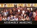 Making Of Bharat Ane Nenu Assembly- Mahesh Babu