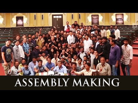Making-Of-Bharat-Ane-Nenu-Assembly