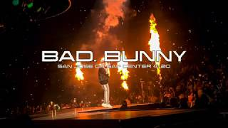 Bad Bunny Live 4/20 STRAIGHT FROM COACHELLA  X100PRETOUR SAN JOSE CA SAP CENTER ! SOLD OUT ARENA!