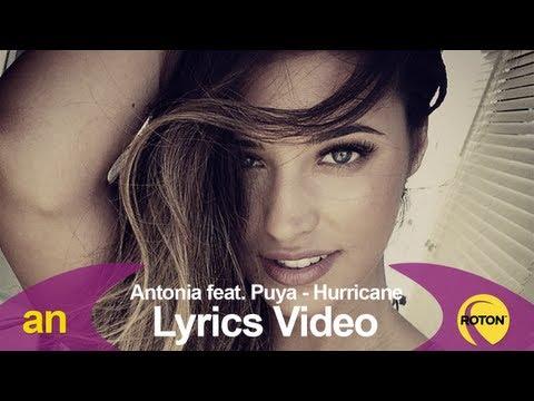 Antonia feat. Puya - Hurricane (Lyric Video)