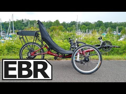 Electric Bike Technologies Electric T3 CX Trike Review - $3k Recumbent Tricycle