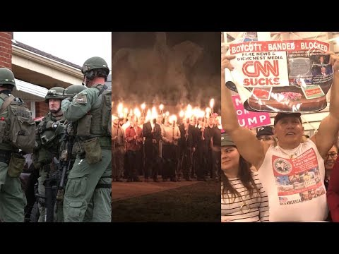 How White Supremacist Ideology & Conspiracies Have Fueled U.S. Domestic Terror & Hateful Violence