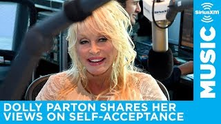 Dolly Parton shares her views on self-acceptance with Storme Warren on The Highway