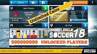 Dream League Soccer 18 Champion League Mod UEFA + UNLIMITED COINS