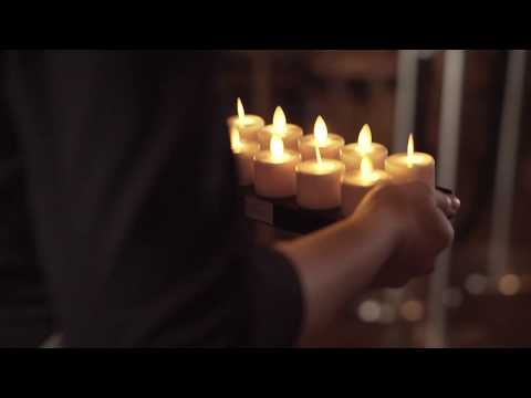 Watch how LED Set Moving Flame outshines tealights for convenience, cost and creativity