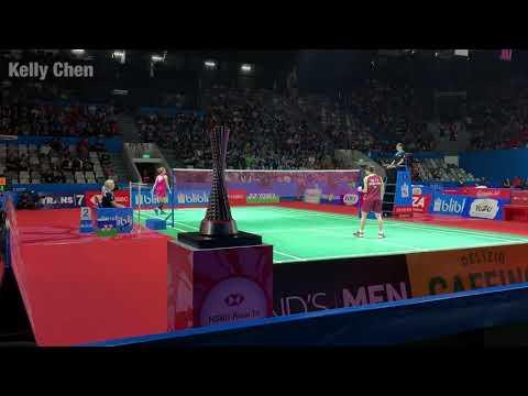 2019.07.19 印尼公開賽8強 戴資穎 Tai Tzu Ying vs 小拉 Ratchanok Intanon (現場片段)