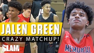 Jalen Green CRAZY Matchup with Isaiah Hill! 🔥 Combine for 76 Points! 😤