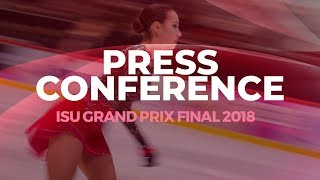 LIVE 🔴 | Ladies Free Skating Press Conference | Vancouver 2018