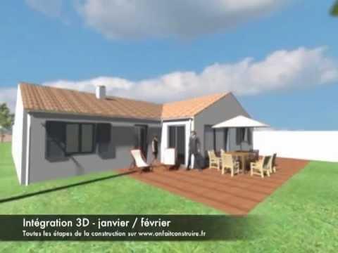 la visite virtuelle 3d de l 39 ext rieur de notre maison avec. Black Bedroom Furniture Sets. Home Design Ideas