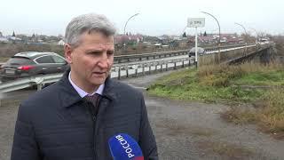 В Калачинском районе начали разбирать аварийный мост