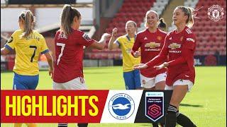 Highlights | Manchester United Women 3-0 Brighton | FA Women's Super League