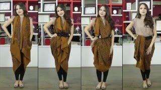 Tutorial Kain Batik With Paola Tambunan