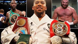 BREAKING NEWS: ANTHONY JOSHUA SAYS WILDER & FURY ARE MAKING GRAVE MISTAKE, I'M GETTING BETTER !!