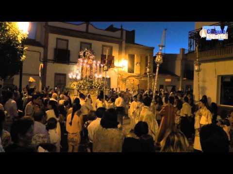 Procesión de la Virgen del Rosario de Olivares