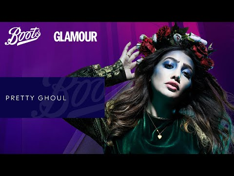 boots.com & Boots Promo Code video: Make-up Tutorial   Halloween Pretty Ghoul   Boots X Glamour   Boots UK