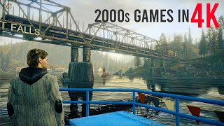 10 FINEST 2000s Video Game Graphics in 4K