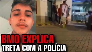 BMO EXPLICA TRET4 COM A POLÍCIA (RAPNEWS #32)