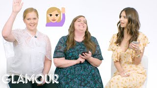 Amy Schumer, Aidy Bryant & Emily Ratajkowski Show Us the Last Thing On Their Phones | Glamour