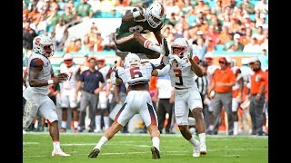 Miami Hurricanes Highlights VS Syracuse