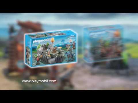 PLAYMOBIL presenteert ... Een nieuw gevecht tussen de Valkenridders en de Drakenridders!