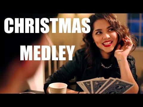 Alyssa Bernal & TJ Brown - Christmas Medley
