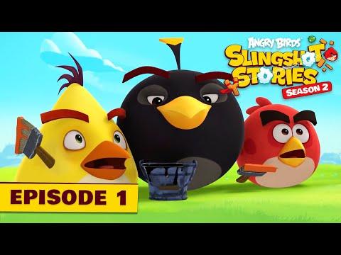 Angry Birds Slingshot Stories S2.1 - Šialené farby